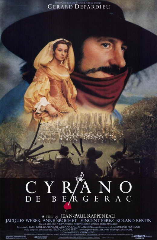 cyrano de bergerac movie posters from movie poster shop