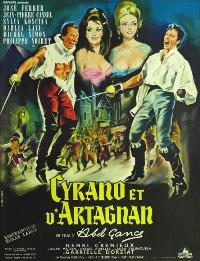 Cyrano et d'Artagnan - 11 x 17 Movie Poster - French Style A