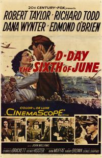 D-Day, the Sixth of June - 11 x 17 Movie Poster - Style A