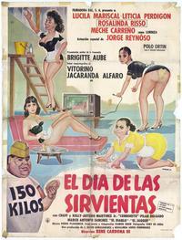 D�a de las sirvientas, El - 27 x 40 Movie Poster - Spanish Style A