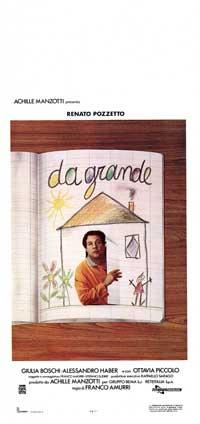 Da Grande - 13 x 28 Movie Poster - Italian Style A