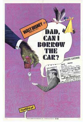 Dad, Can I Borrow the Car? - 27 x 40 Movie Poster - Style A