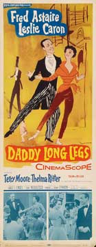 Daddy Long Legs - 14 x 36 Movie Poster - Insert Style E