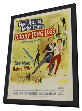 Daddy Long Legs - 11 x 17 Movie Poster - Style A - in Deluxe Wood Frame