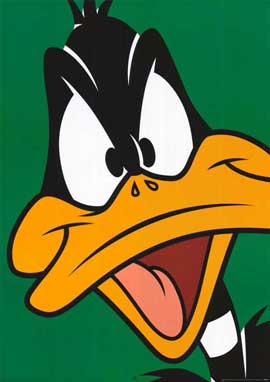 Daffy Duck - 11 x 17 Movie Poster - Style A