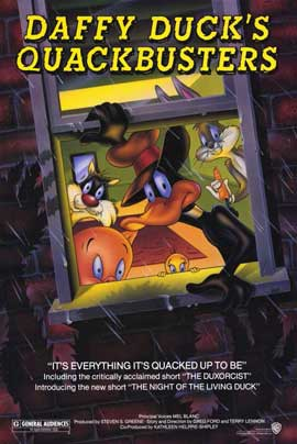 Daffy Ducks Quackbusters - 11 x 17 Movie Poster - Style A