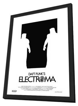 Daft Punk's Electroma - 11 x 17 Movie Poster - Style A - in Deluxe Wood Frame