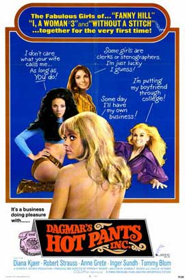 Dagmars Hot Pants Inc. - 11 x 17 Movie Poster - Style A
