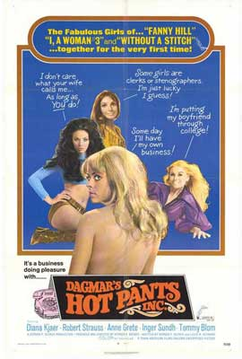 Dagmars Hot Pants Inc. - 27 x 40 Movie Poster - Style A