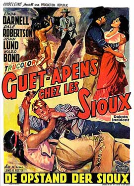 Dakota Incident - 11 x 17 Movie Poster - Belgian Style A