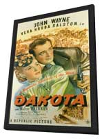 Dakota - 11 x 17 Movie Poster - Style A - in Deluxe Wood Frame