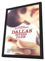 Dallas Buyers Club - 11 x 17 Movie Poster - Style B - in Deluxe Wood Frame
