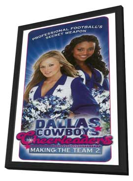 Dallas Cowboys Cheerleaders - 11 x 17 TV Poster - Style A - in Deluxe Wood Frame