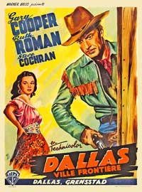 Dallas - 11 x 17 Movie Poster - French Style A