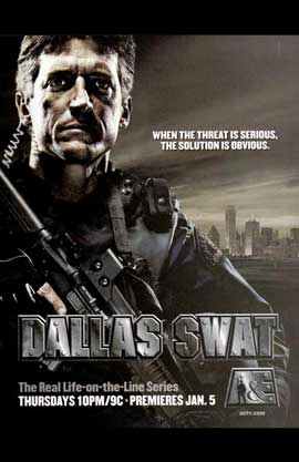 Dallas Swat - 11 x 17 TV Poster - Style A