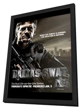 Dallas Swat - 11 x 17 TV Poster - Style A - in Deluxe Wood Frame