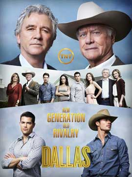 Dallas (TV) - 11 x 17 TV Poster - Style D