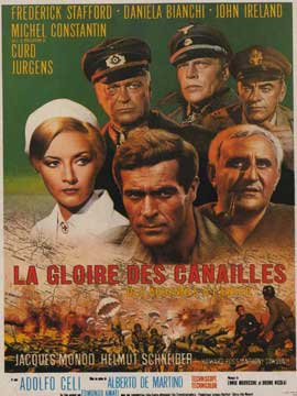 Dalle Ardenne all'inferno - 11 x 17 Movie Poster - French Style A