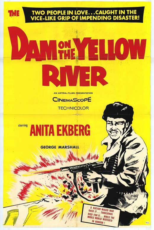 dam on yellow river movie posters from movie poster shop