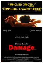 Damage - 11 x 17 Movie Poster - UK Style A