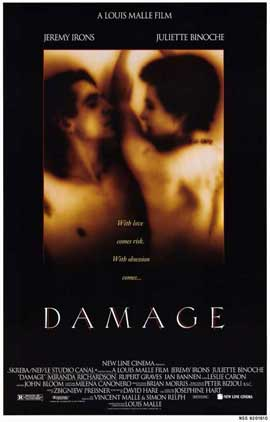 Damage - 11 x 17 Movie Poster - Style A