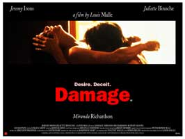 Damage - 27 x 40 Movie Poster - UK Style A
