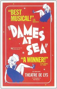 Dames at Sea (Broadway) - 11 x 17 Poster - Style A