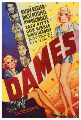 Dames - 27 x 40 Movie Poster - Style A