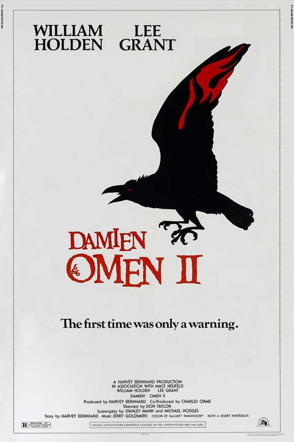 The Omen and Damien: Omen II OMEN IV, OMEN V and OMEN THE FINAL CONFLICT 5 BOOK LOT
