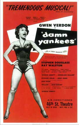 Damn Yankees (Broadway) - 14 x 22 Poster - Style A