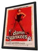 Damn Yankees! - 27 x 40 Movie Poster - Style A - in Deluxe Wood Frame
