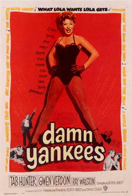 Damn Yankees! - 27 x 40 Movie Poster - Style A
