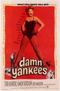 Damn Yankees! - 43 x 62 Movie Poster - Bus Shelter Style A