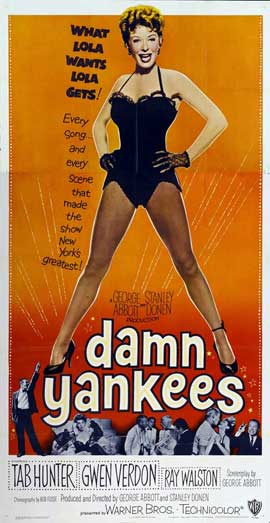 Damn Yankees! - 14 x 36 Movie Poster - Insert Style A