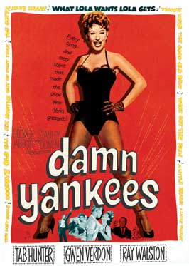 Damn Yankees! - 43 x 62 Movie Poster - Bus Shelter Style B