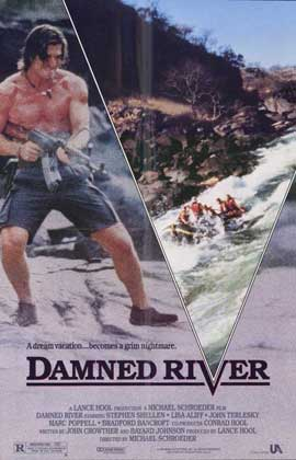 Damned River - 11 x 17 Movie Poster - Style A