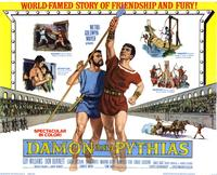 Damon and Pythias - 22 x 28 Movie Poster - Half Sheet Style A