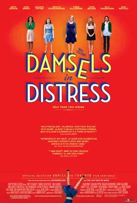 Damsels in Distress - 11 x 17 Movie Poster - Style A