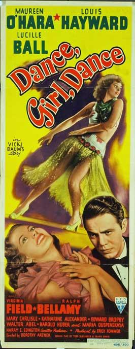 Dance, Girl, Dance - 14 x 36 Movie Poster - Insert Style B