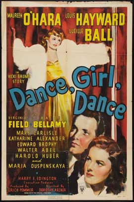 Dance, Girl, Dance - 11 x 17 Movie Poster - Style A