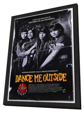Dance Me Outside - 11 x 17 Movie Poster - Style B - in Deluxe Wood Frame
