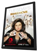 Dance Moms (TV) - 11 x 17 TV Poster - Style A - in Deluxe Wood Frame