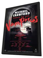 Dance of the Vampires (Broadway) - 11 x 17 Poster - Style B - in Deluxe Wood Frame