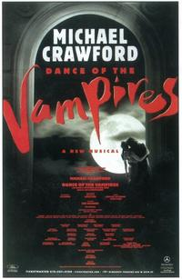Dance of the Vampires (Broadway) - 11 x 17 Poster - Style A