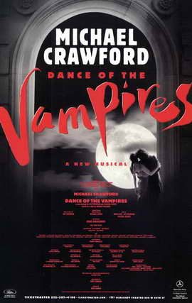 Dance of the Vampires (Broadway) - 11 x 17 Poster - Style B
