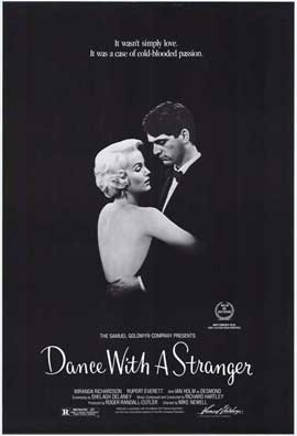 Dance with a Stranger - 27 x 40 Movie Poster - Style A