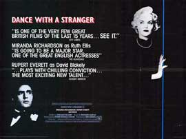 Dance with a Stranger - 27 x 40 Movie Poster - Style B