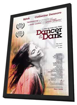 Dancer in the Dark - 27 x 40 Movie Poster - Style B - in Deluxe Wood Frame