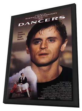 Dancers - 27 x 40 Movie Poster - Style A - in Deluxe Wood Frame