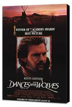 Dances with Wolves - 11 x 17 Movie Poster - Style B - Museum Wrapped Canvas